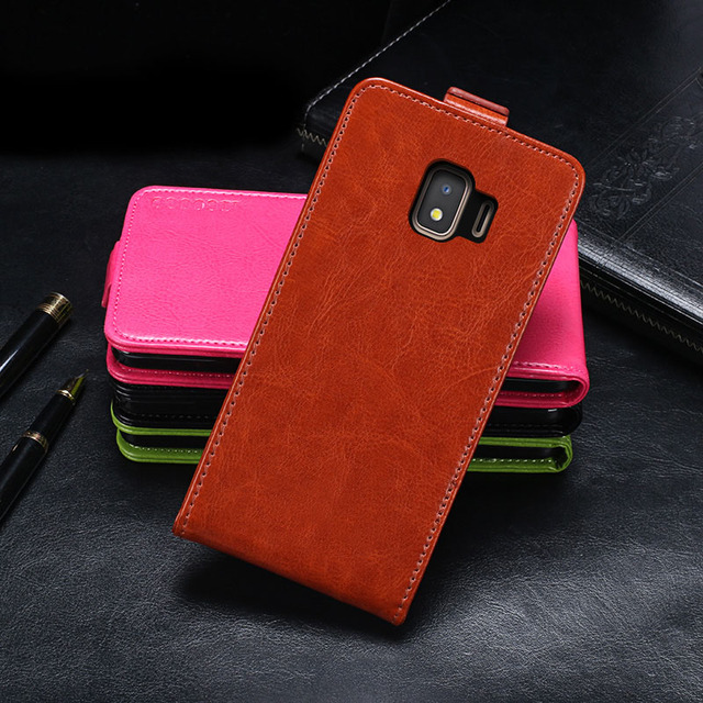 finest selection 5808a 180f6 US $4.99  Case For Samsung Galaxy J2 Core Case Cover Flip Leather  Protective Case For Samsung J2 Core Cover Business Phone Case-in Flip Cases  from ...