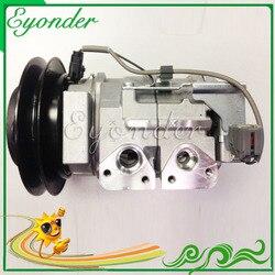 A/C AC sprężarka klimatyzacji pompy chłodzenia dla HINO RANGER 238 258 268 338 7.7L do ciężarówek 447220-4442 447180 -2910 88310E0110