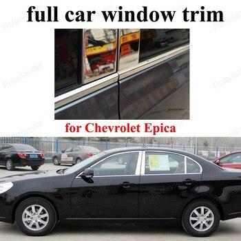 Нержавеющая сталь для C-hevrolet E-pica декоративная рамка для стайлинга автомобиля с полным окном