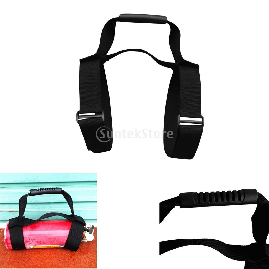 Heavy Duty Fully Adjustable Strong Webbing Scuba Diving Diver Tank Air Cylinder Bottle Carrying Strap with Comfortable Handle