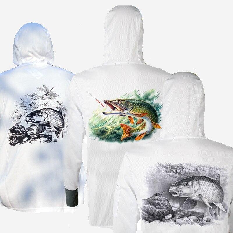 Prix pour Nouveau Homme/Femme Randonnée Anti UV/Respirant/Rapide-séchage Professionnel Vêtements Pour La Pêche Hommes Maille De Pêche chemise Vêtements en gros
