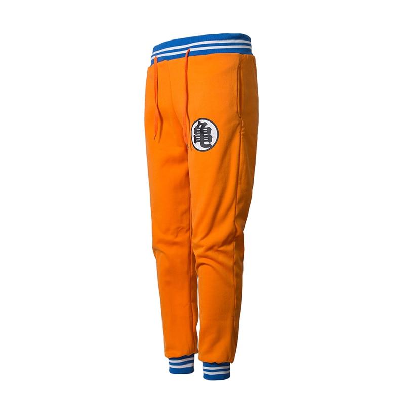 Anime Dragon Ball Z GOKU Sweatpants Casual Exercise Trousers Men