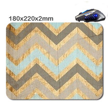 Customized Wood Pattern 180 * 220 * 2 Mm Rectangle Non - Slip Rubber Soft 3 D Print Gaming Laptop Mouse Pad As Gift(China)