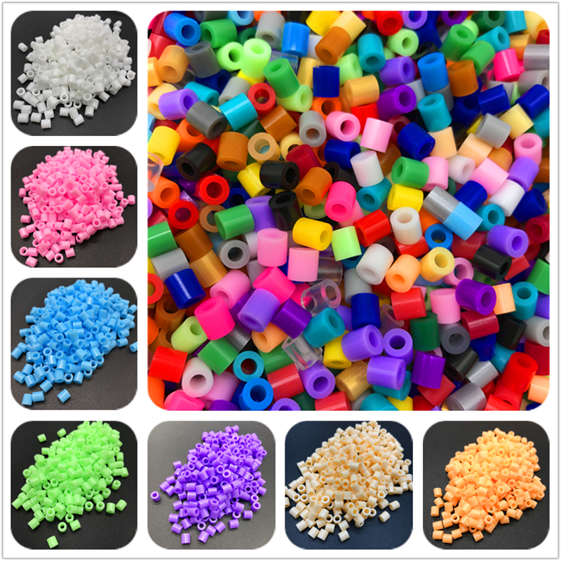 300Pcs 5mm HAMA Perler Beads for GREAT Kids Great Fun DIY Intelligence Educational Toys Craft Puzzles(China)