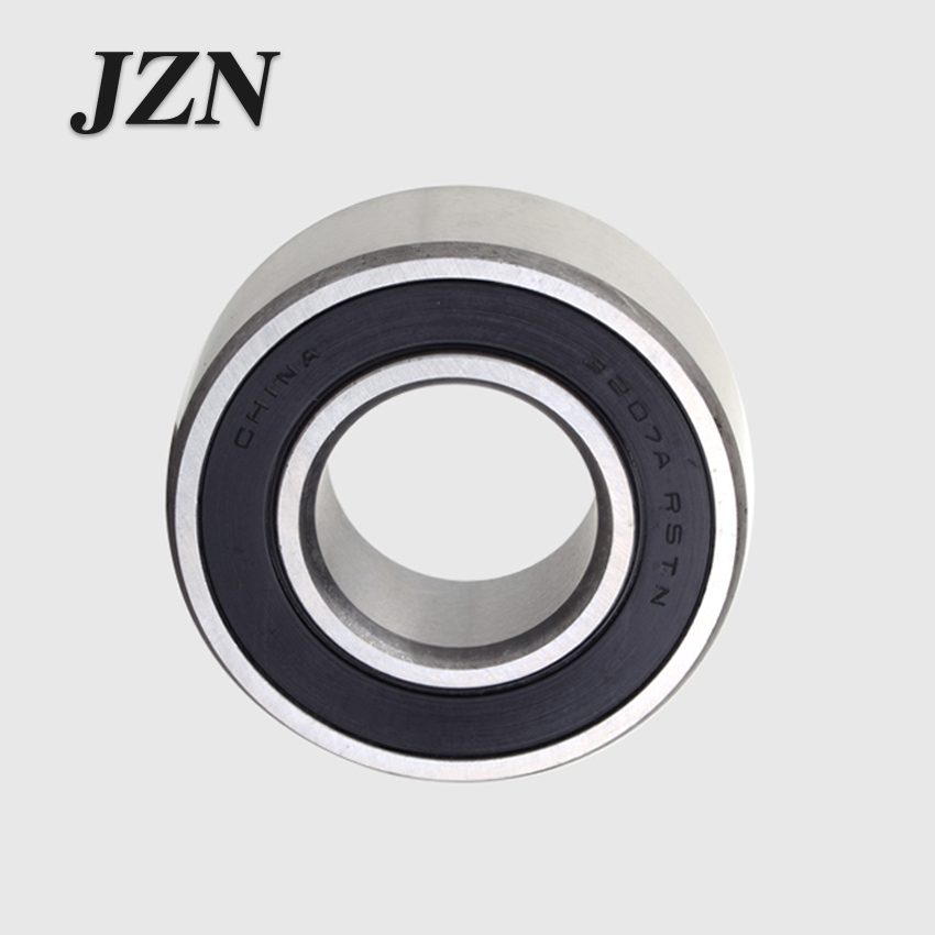Free shipping 1 PC 3016 6017 3018 3019 3020 2RS Double Row Angular Contact Ball Bearings