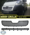 Mesh grille case for Peugeot Boxer 2006- car styling molding decoration protection chrome pad cover stainless