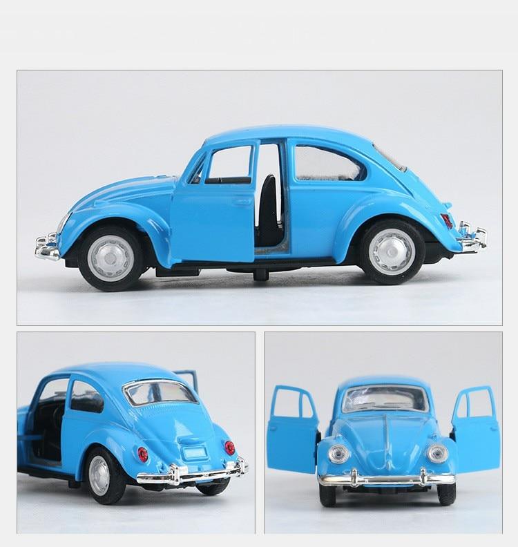 Retro Classic Volkswagen Beetle Model Toy Car 15