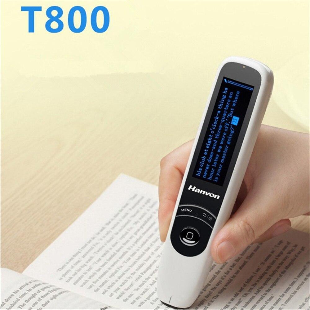 Nouveau T800 stylo scanner soutien traduction Anglais Chinois Japonais traduction dictionnaire électronique avec Écran lcd écran - 2