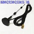 868 MHZ/915 MHZ/GSM/3G antena pequeña ventosa 7dbi antena 3 metros SMA male #2