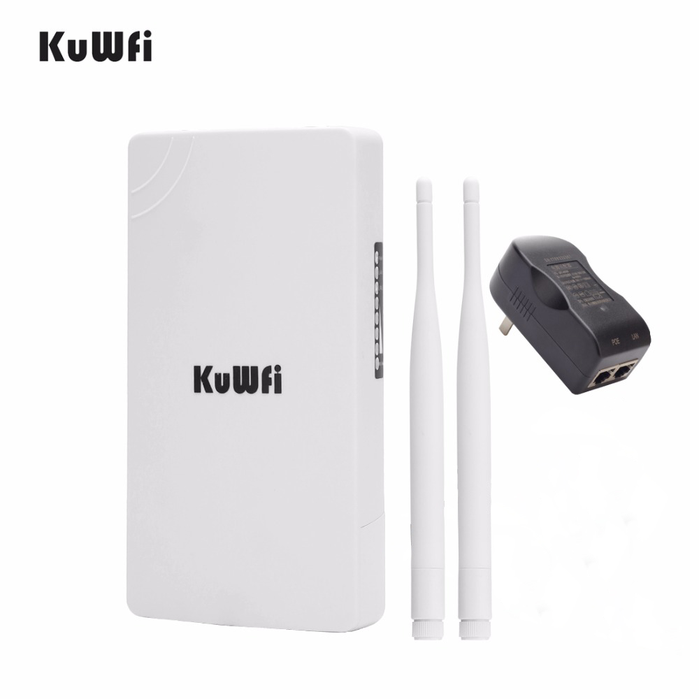 Image 5 - 2.4GHz 300Mbps High Power WiFi Repeater Extender Wide Area Indoor Wi Fi Amplifier With 360 Degree Omnidirection Antennas-in Wireless Routers from Computer & Office