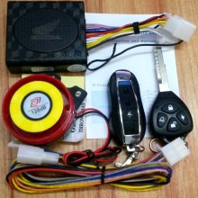 Motorcycle alarm, anti-theft system,key alarm, remote start, waterproof, free shipping