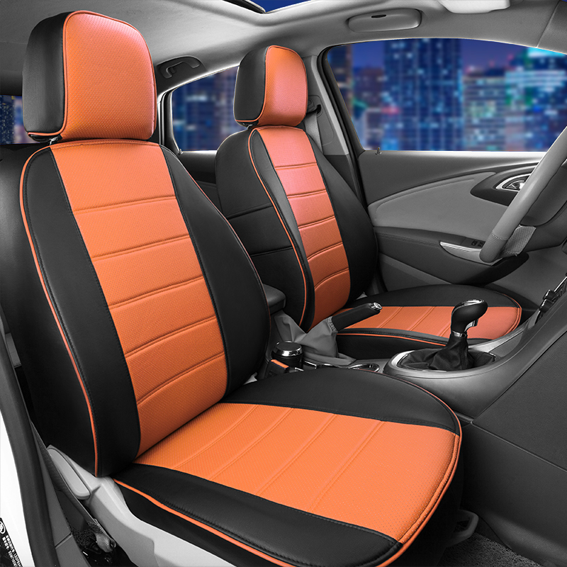 AutoDecorun PU leather covers seat for Mercedes Benz Smart fortwo ...