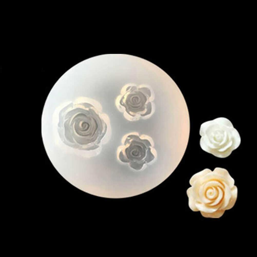 زهرة ورقة قلادة قلادة قالب من السيليكون مجوهرات من مادة الراتنج صنع الايبوكسي الراتنج قوالب DIY بها بنفسك اليد الحرفية للمجوهرات
