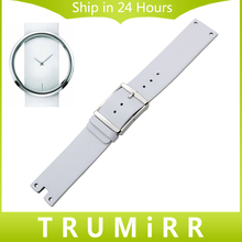 Genuine Leather Watchband 22mm for CK Calvin Klein K94231 Watch Band Wrist Strap Stainless Steel Clasp