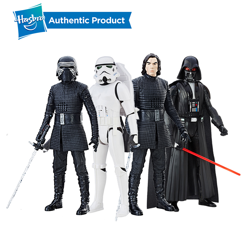 Hasbro Star Wars Interachtech Kylo Ren Kylo Ren Imperial Stormtrooper Electronic Action Figure With Sound Boys Gift Collection image