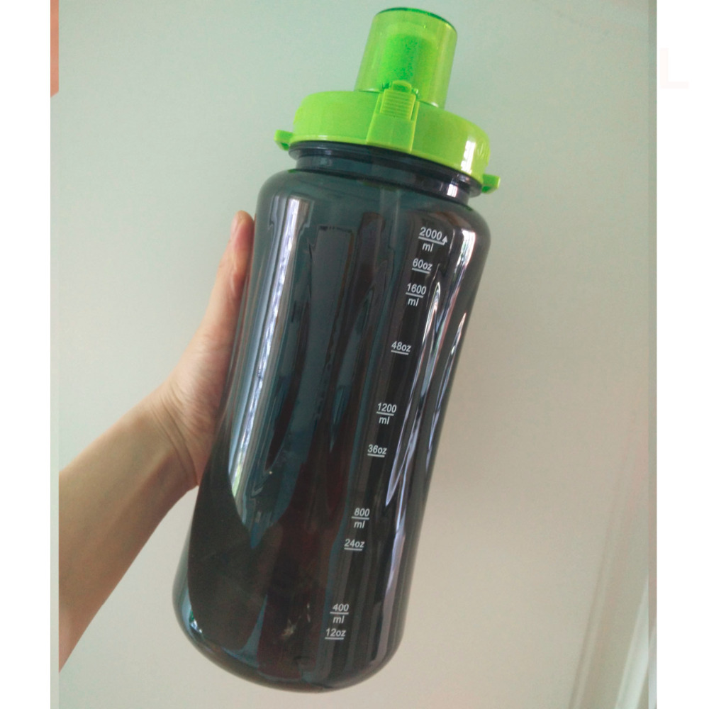 buy wholesale 1000ml 2000ml 32oz 64oz 2l shake sports water bottle food grade bpa free 24hour herbalife nutrition water bottle from