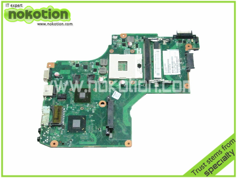 все цены на  laptop motherboard for toshiba satellite C600 V000238100 6050A2448001-MB-A01 HM65 GT315M DDR3 mother board 100% Tested  онлайн