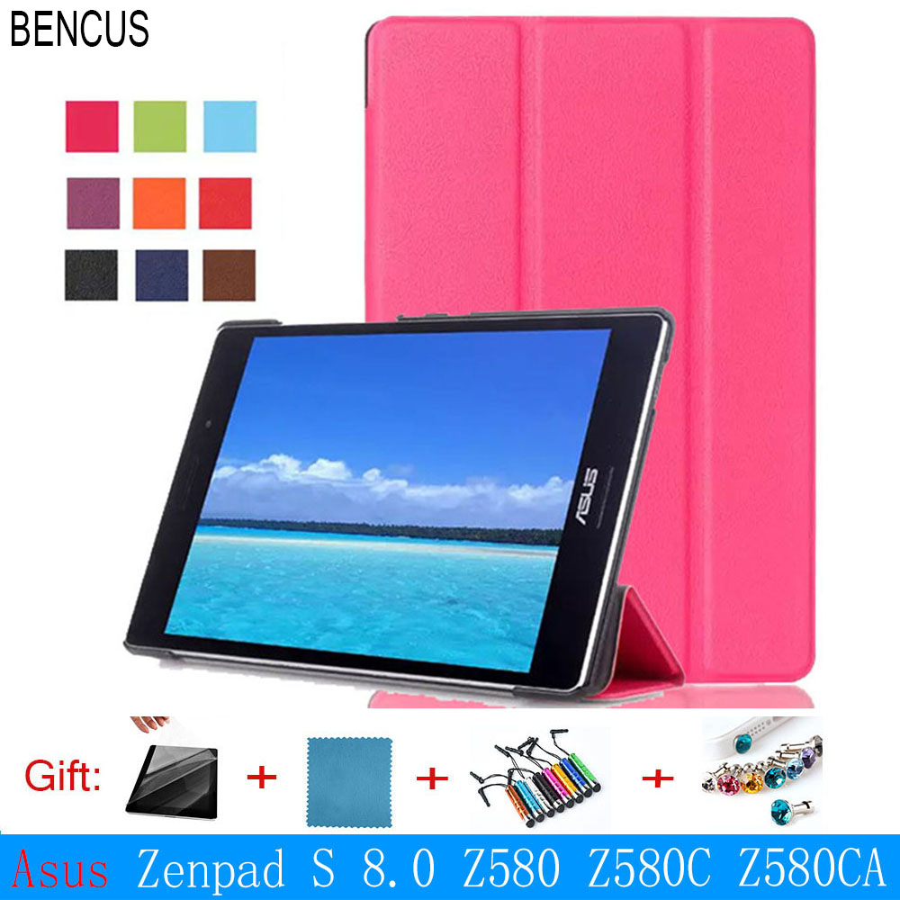 BENCUS Rushed Special Offer for Asus Zenpad S 8.0 Z580 Z580c Z580ca Hd Tablet Slim Protective Cover Smart Case for 8 Skin Shell