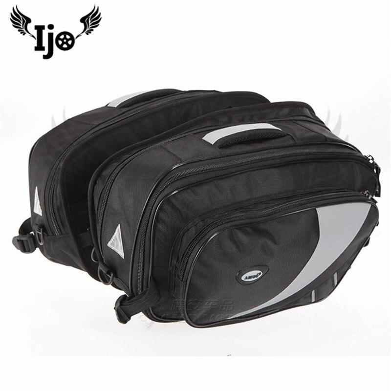mochila moto saddle bag unviersal for benelli honda kawasaki suzuki motorsiklet sportster givi. Black Bedroom Furniture Sets. Home Design Ideas