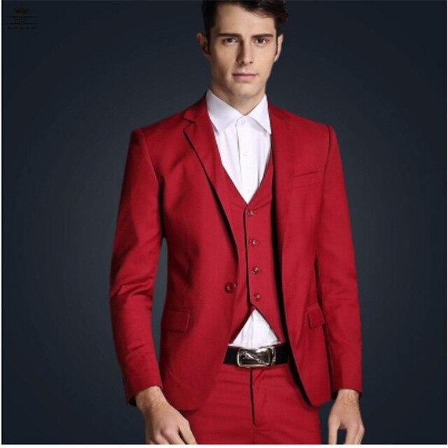 Blazer rosso da uomo