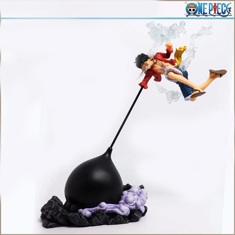 Toys & Hobbies Hkxzm Anime 26cm One Piece Colosseum Gear Third Monkey D Luffy Pvc Figure Collectible Model Toy