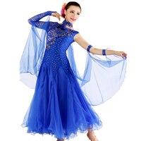 Ballroom Dance Competition Dresses 7color Viennese Waltz Dress M/L/XL Jabbawockeez Clothing 2019 New Prom Ballroom Dresses