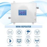Aletler'ten Sinyal Jeneratörleri'de 110 220V Tri Band amplifikatör 900 1800 2100 GSM DCS WCDMA 2G/3G/4G LTE evrensel sinyal güçlendirici akıllı tekrarlayıcı kiti