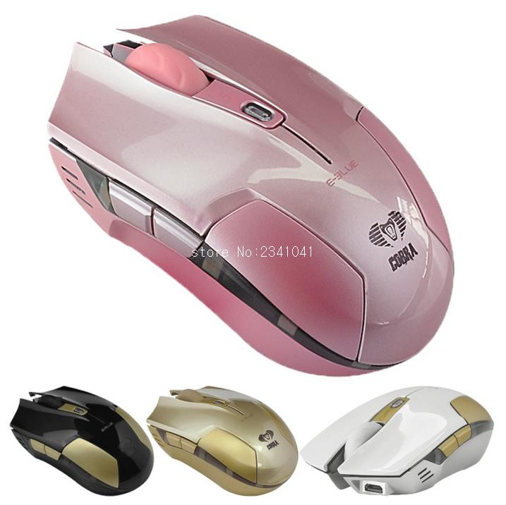 Professional business Optical mouse 6 buttons 1800 dip USB 2.4G Wireless mouse
