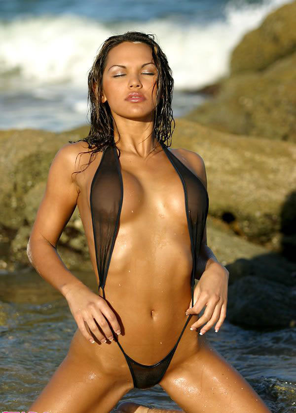 See-through Mesh Micro <font><b>Bikini</b></font> Set Beach Swim Lingeries Swimwear Female Sex Extreme <font><b>Women</b></font> <font><b>Sexy</b></font> G-string Slingshot Teeny Swimsuit image