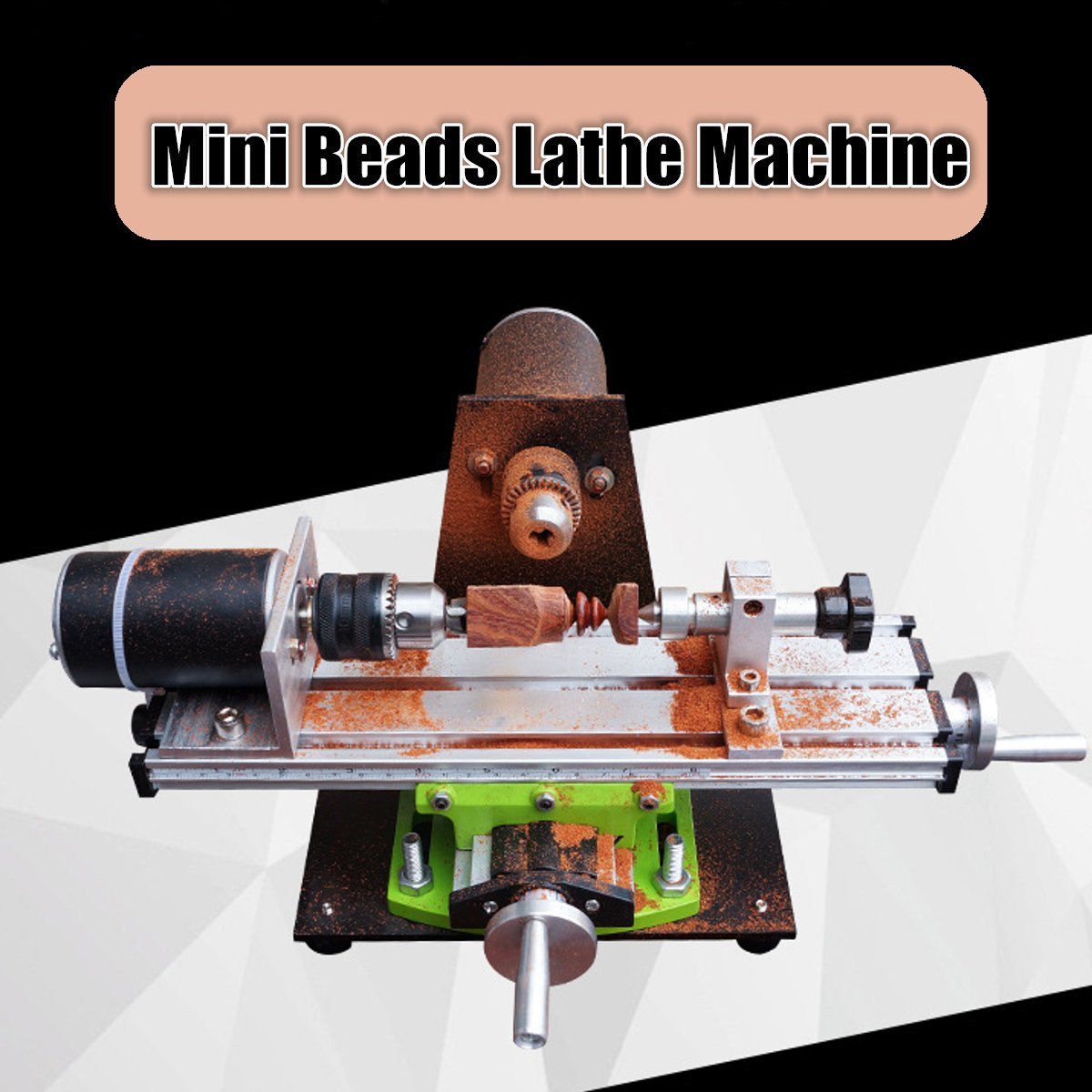 Household Desktop Polishing Machine Lathe 220V Mini Beads Lathe Machine DIY Wood Beads Wood Working Machine Tools china wood working mini cnc lathe is900