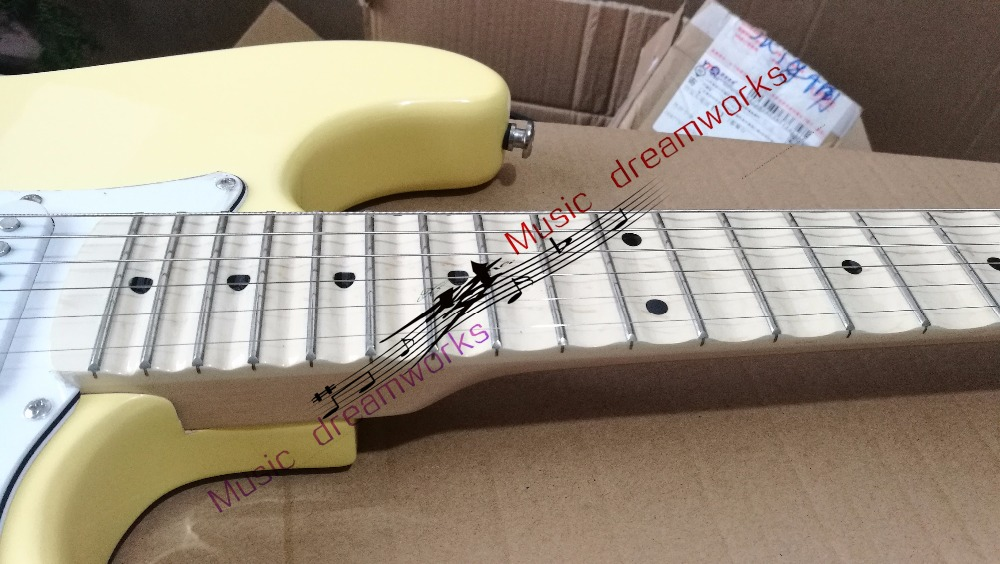 China's guitar Hot selling  high quality beautiful  ST  Electric Guitar The grooves of the fingerboard The color can be changed кухонный уголок трия остин