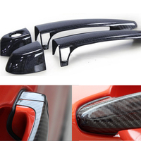 High quality 100% real carbon fiber Auto outer door handle cover for BMW 4 series F32 F33 F36 X1 E84 X3 F25 X4 F26 car styling