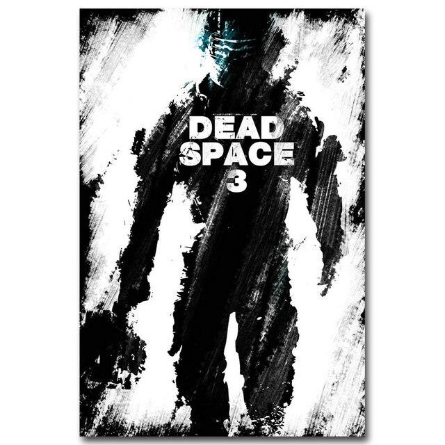 Шелковый Плакат Гобелен игра Dead Space 3