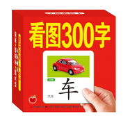 Chinese Characters Cards Learn 300 Chinese Characters With The Picture Chinese Book With Pinyin English And