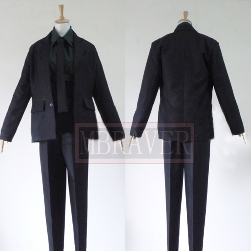 Soul Eater Spirit Albarn Death Scythe Cosplay costume Anime custom any size