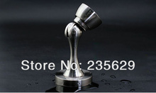 Free Shipping, brushed stainless steel Door Stopper,suitable for interior doors, Door Holders For Sale, High suction, Zinc Alloy