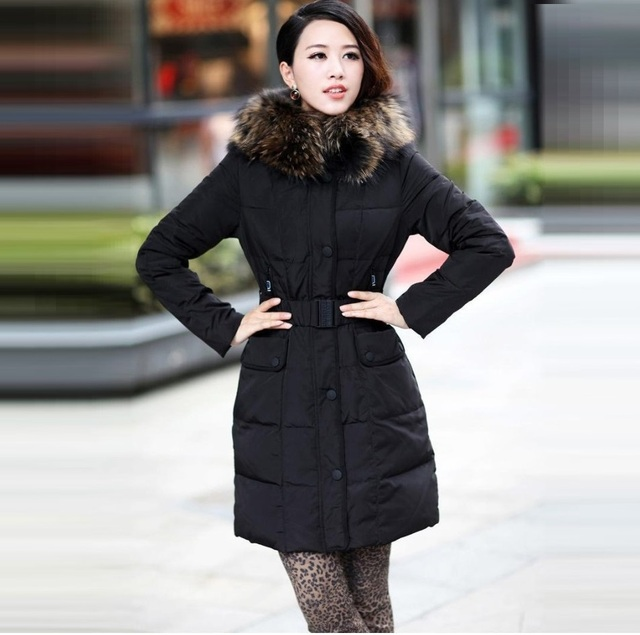 FREE SHIPPING 2012 Winter famous brand medium-long thermal outerwear max. size 5XL boutique down coat