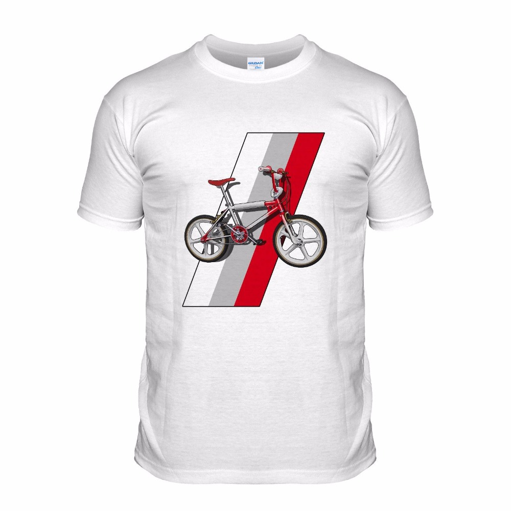 T Shirts Fashion 2018 Style Cool Tees Casual Novelty Funny T-Shirt Men Bmx 80S Classic Dirt Biker Sportser Bicycle Mens Tees