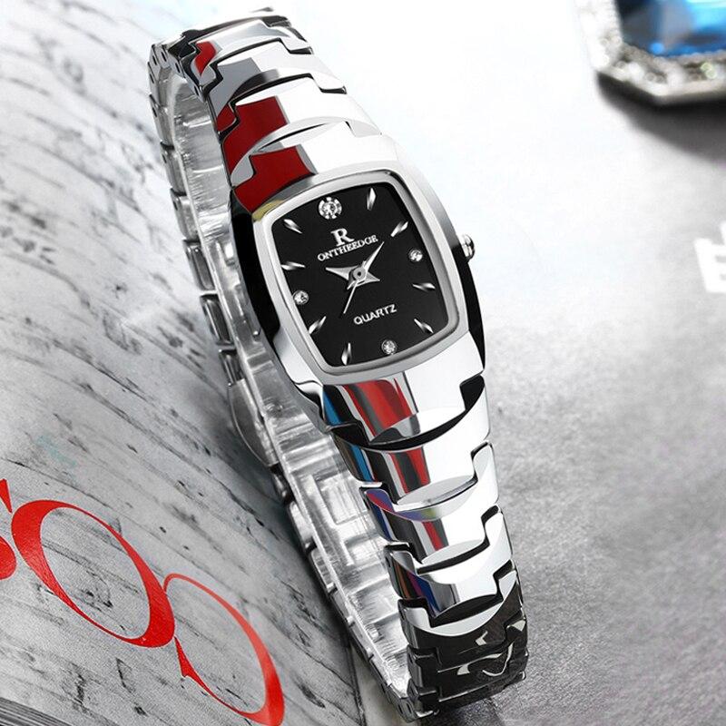 Bracelet Watch Table Quartz Female Women Ultra-Thin Tungsten Ms And Rick Met Lovers