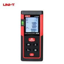 Big discount 2017 Laser Distance Meter Rangefinders Diastimeter UNI-T UT390B+ Portable 40M Optical Laser Range finder Handheld area measure