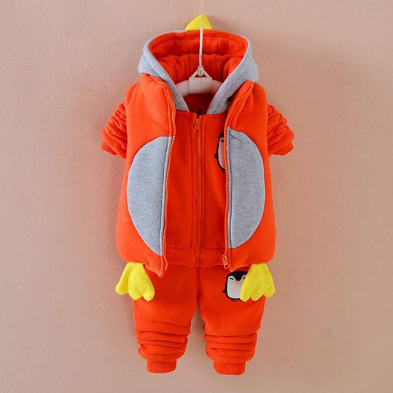 Cotton Suit Down Set US Size 3T STIME 2017 Childrens Plush Ski Suit Baby Boys and Girls Snowsuit