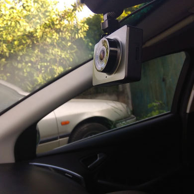 """YI Smart Dash caméra enregistreur vidéo WiFi Full HD voiture DVR caméra Vision nocturne 1080P 2.7 """"165 degrés 60fps caméra pour l'enregistrement de voiture 3"""