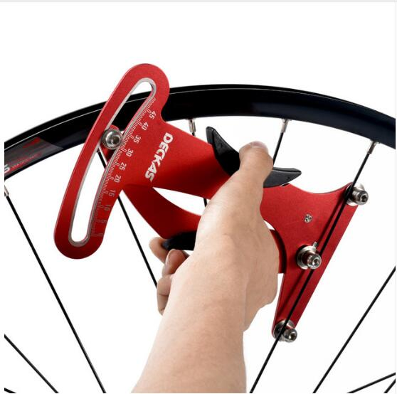 Deckas  Bike Indicator Attrezi Meter Tensiometer Bicycle Spoke Tension Wheel Builders Bike Tools