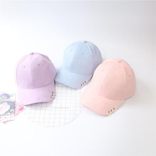 Punk Wind Artificial Suede Baseball Cap Pure Color For Men and Women Winter Outdoor Sports Cap Leisure Hat Accessories