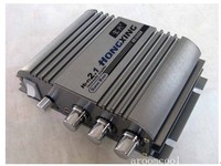 HX168HA 300W 300W Super Bass HiFi 2 1 Stereo Audio Car Amplifier Auto Sound Enlarger