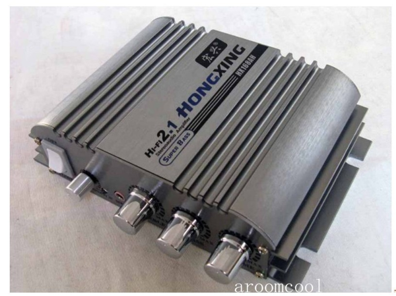 HX168HA 300W+300W Super Bass HiFi 2.1 Stereo Audio Car Amplifier/ Auto Sound Enlarger fender super bassman® 300w head