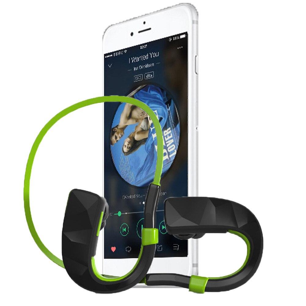 все цены на Hot Sale Wireless Bluetooth Earphone with Micro PHone In-Ear Stereo Sports Waterproof Headset for iPhone for Samsung #ED онлайн