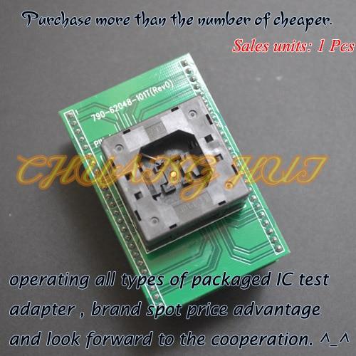 IC TEST Detect QFN48 ToDIP48 For Xeltek Programmer 790-62048-101T QFN48/D48 Adapter