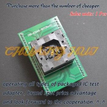 IC TEST Detect QFN48 toDIP48 for xeltek Programmer 790-62048-101T QFN48/D48 Adapter 20piece 100% new axp209 qfn48 tablet laptop chips