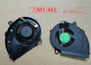 Новый Кулер для ноутбука OEM, вентилятор для Acer Aspire M5-481 M5-481G M5-481PT M5-481T M5-481TG X483G Z09 AB08005HX07QB00 0Z09